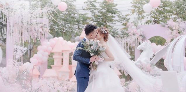 你是我柔软时光里的小公主//喜望私享婚礼定制//【梦幻粉色城堡婚礼】