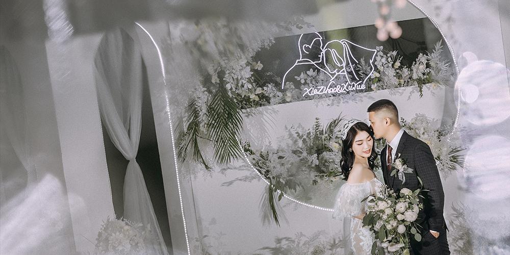 桐乡喜望婚礼策划|留白